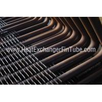 Quality DIN 17175 ST35.8 / I  SMLS Carbon Steel Square H Fin Tubing with 90° Bends wholesale