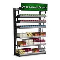 Painted Mobile Cigarette Display Cabinet Stand With Shelves 360 Packs