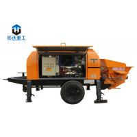 Best Advanced Hydraulic System Electric Concrete Pump With Highly Wear Resistant Parts wholesale