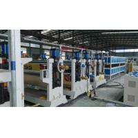 Best Two roller ACP Production Line 95mm 75mmTwin Screw Diameter For Aluminum Plate wholesale