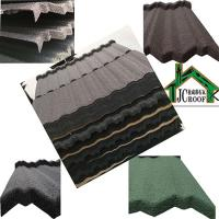 Best Stone Chip Coated Metal Roof Tiles , Metal Roof Shingles with durable galvanized plate wholesale