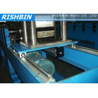 Quality 0.7 - 1.2 mm Thickness Top Hat Channel Roll Forming Machine with Hydraulic Cutting wholesale