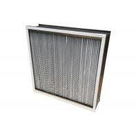 Best 350℃ High Temperature HEPA Air Filter For HVAC System Dust Holding 1150g wholesale