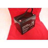 China Solar System 12v Deep Cycle Gel Battery / Square Deep Cycle Marine Battery on sale