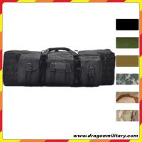China OEM high quality 36 inch double tactical rifle case with molle gear on sale