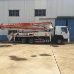 Best Iso Ccc 37m Concrete Pump Trailer HOWO Concrete Mixer Truck Energy Saving wholesale
