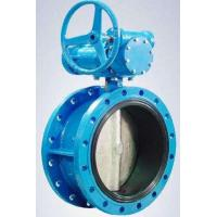 Best Flanged Resilient Sealing Stainless Steel / Ductile Iron Butterfly Valve 1.0MPa / 1.6MPa wholesale