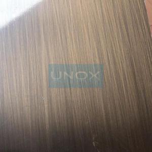 Best 304 Bronze Hairline Stainless Steel Plate-CopperHairline Bronze Stainless Steel Sheets wholesale