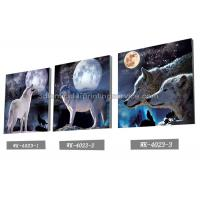 Best PET Plastic Printing Service / 3D Lenticular Pictures 40x40cm Home Decoration wholesale