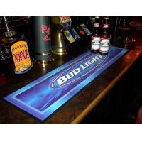 Best Custom print Logo NBR pvc rubber felt bar spill mat, bar runner bar mat with full colour manufacturer hot wholesale wholesale