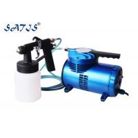 Best Portable Mini Air compressor with Low Pressure Spray Gun Forfurniture Painting Works Art wholesale
