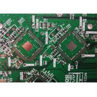 Buy cheap 4 Layers Electronic Printed Board ENIG 1u' Gold Finger Solder Mask from wholesalers