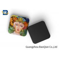 Best Square Wine Tea Cup Custom Printed Coasters 3D Lenticular Printing Service wholesale