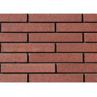Custom Red Brick Siding Panels Exterior For Home Wall 240x60mm