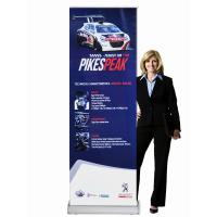 Best Classic Rolla Retractable Display Banners Including Printed banner and Aluminum Base wholesale