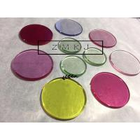 China Custom Design Synthetic Ruby , Sapphire Glass 9.0 Hardness For Wrist Watch Lens on sale