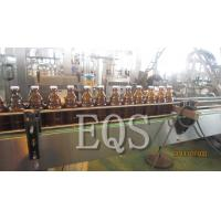 Cheap 5L PET Bottle Beer Filling Line , Fully Automatic Linear Filling Machine for sale