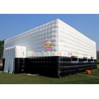 Best Customized Outdoor Inflatable Tent / White Inflatable Party Tent 15M X 10M wholesale