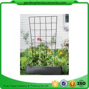 "Best Sturdy Metal Vegetable Garden Trellis , Garden Green Bean Trellis 56"" trellis is 47-1/2"" H installed; 30"" W at the top a wholesale"