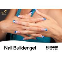 Best No Heat Long Nails Hard Builder Gel , Soak Off Uv Builder Gel For Nail Art Designs wholesale