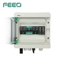 Best Solar 2 Strings Dc Pv Combiner Box Lightning Protection wholesale