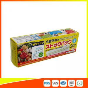 Best Vegetable Fresh Keeping Freezer Zip Lock Bags  , Plastic Zip Storage Bags wholesale
