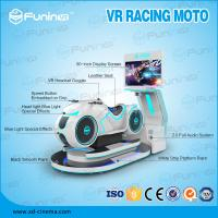 Best 220V White Multiplayer Car Driving Simulator VR Motorcycle Racing Game wholesale