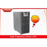 Best PF 0.9 1-20KVA High Frequency Online UPS , black uninterruptible power supplies wholesale