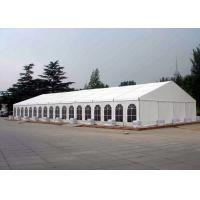 Waterproof Canvas Roof Steel Structure Canopy Party Tent For 200 / 100 People