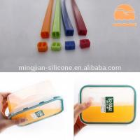 Best Lunch Box Custom Silicone Gaskets , Molded Silicone Rubber Seals Water Resistance wholesale
