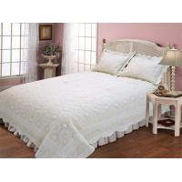 Best Geometric Patterns Embroidery Quilt Kits Solid With Border For Bedroom Decoration wholesale