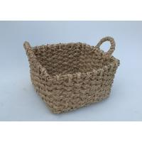 Buy cheap Beachcomber utility basket, Rush hand woven storage basket with handle, from wholesalers