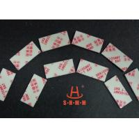 Best Fiber Rice Desiccant With Thin Sticker Tape , Food Grade Desiccant Packets 1.0mm Thickness wholesale