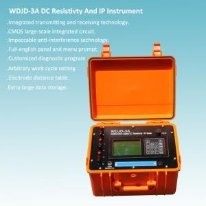 Best Fault Self-diagnosing DC Resistivity And IP Insrtument wholesale
