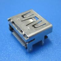 Buy cheap shield HDMI connector SMT type 19 PIN Female from wholesalers