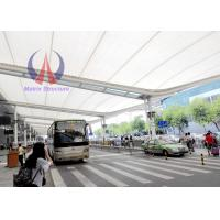 Best PTFE Membrane Corridor Tensile Roofing Structures‎ , Car Parking Tensile Structure wholesale