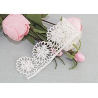 Best Cotton Guipure Venice Lace Trim Water Soluble Lace Floral Embroidered Lace Ribbon wholesale