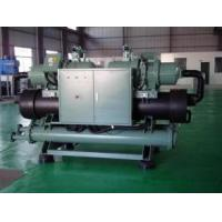 Best Industrial Screw Compressor Water Cooled Screw Chiller With R134a Refrigeration , CE / ISO wholesale