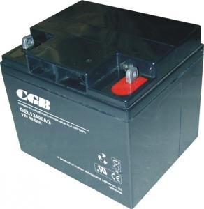 Best CE / UL 12V 40AH GEL Lead Acid Battery Low Self Discharge Batteries wholesale