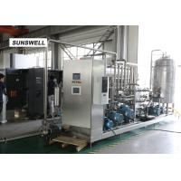 Best Automatic Carbonated Filling Machine With Automatic Mass Flow Mixer Reducing  Precision Error wholesale