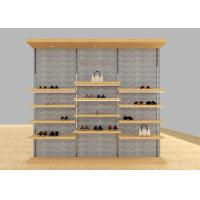Best Casual Shoe Shop Display Stands , Modern Footwear Display Shelves For Decoration wholesale