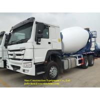 China 12m3 Mobile Cement Mixer Trucks Sinotruk Howo 6x4 With Left / Right Hand Drive on sale
