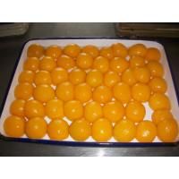 Best Food Factory Canned Peach Halves In Syrup Grade A 3.4-3.7 PH Value wholesale