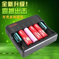 Best 6 Slots AA AAA Lithium Ion Battery Charger , Universal Nimh Nicd Battery Charger wholesale