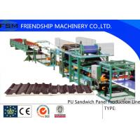 China Discontinuous PU Sandwich Panel Production Line double-layer laminator on sale