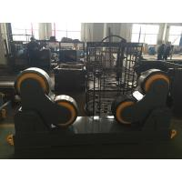 Best Rubber Wheels Pipe Welding Rollers For Cylinder / Automatic Welding , 4Kw Motor Power wholesale