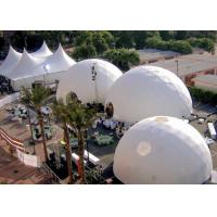 Best Big Geodesic Dome Tent For Events Wedding Party Advertising Big Dome Tent , Large Event Tents wholesale