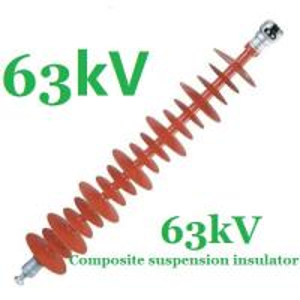 Anti - Pollution Small Volume Electrical Insulators 63kV IEC 61109 Standard