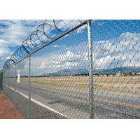Best Widely Used Galvanized Chain Link Fence Diamond Strong Anti Rust / Corrosion wholesale