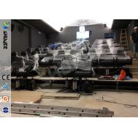 Best Servo Electronic And 5.1 Audio 6D Cinema Equipment With Dynamic Chairs wholesale